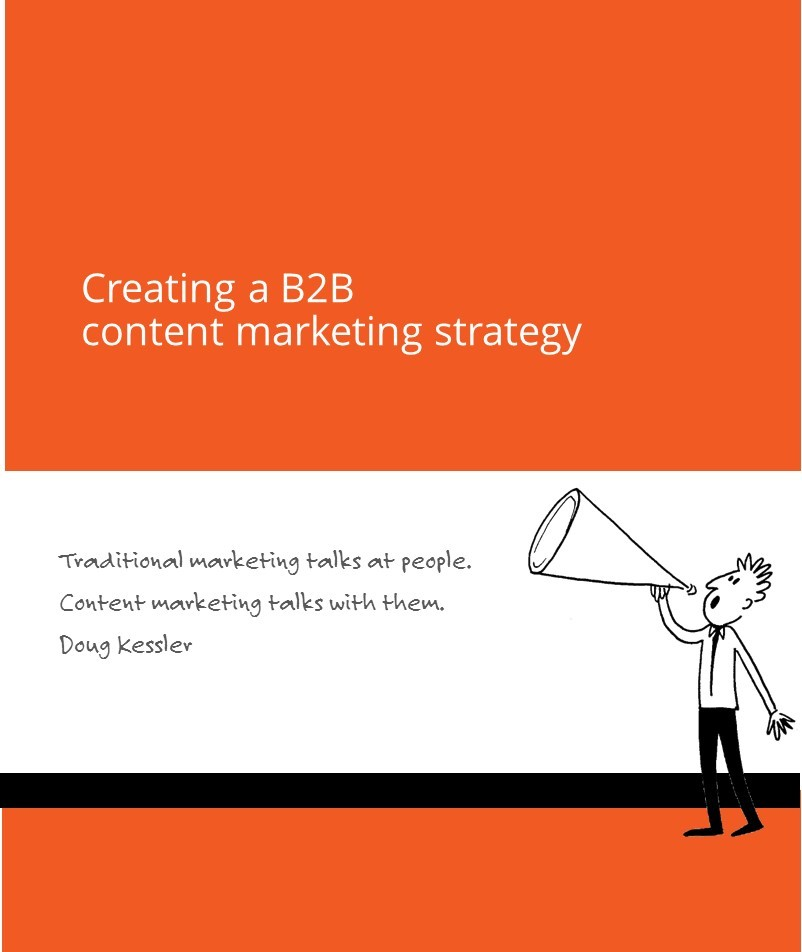 Creating a  B2B Content Marketing StrategyPage Featured Image