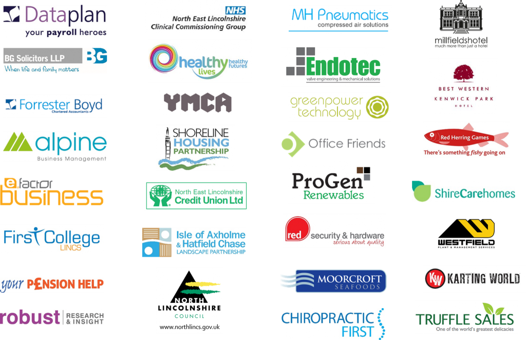 Here are just some of the businesses and organisations we work with