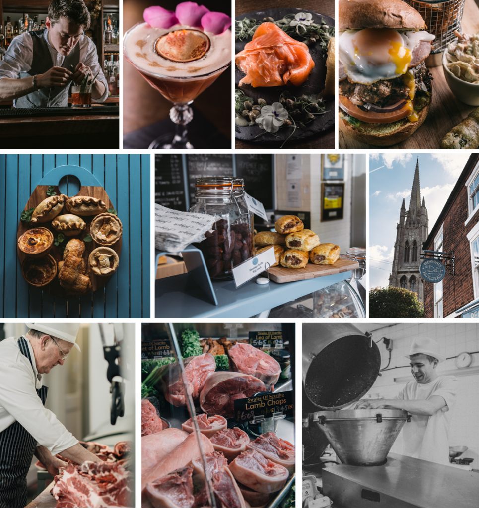 Examples of food photography