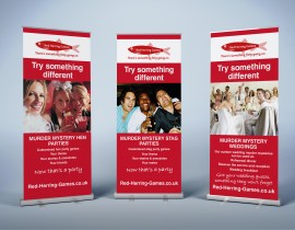 Red Herring Games banners