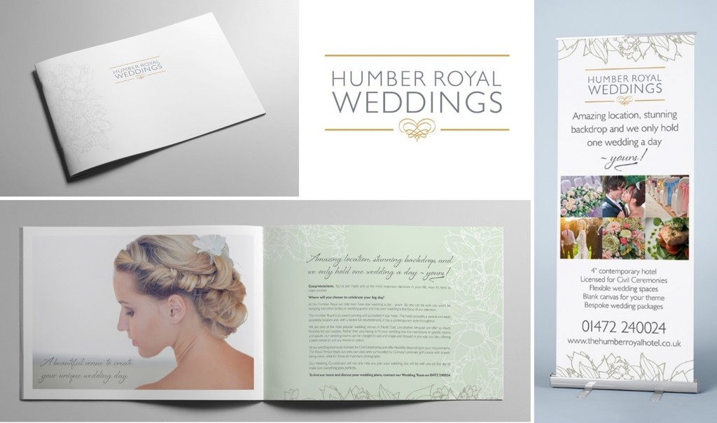Humber Royal Wedding branding
