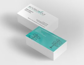 Endeavour coaching and development business cards
