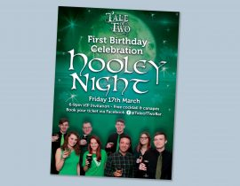 St Patricks Day celebration poster